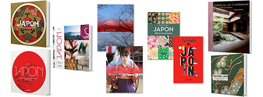 Couvertures Livres sur le Japon de David Michaud
